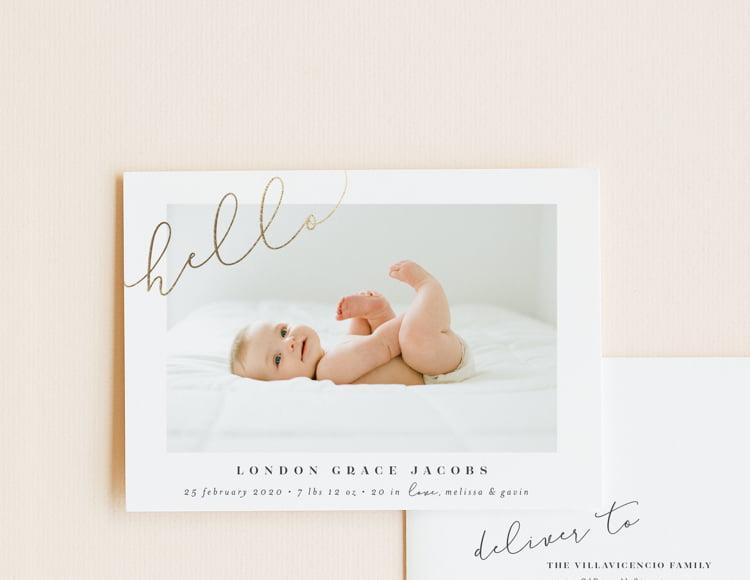 Shop Birth Announcements