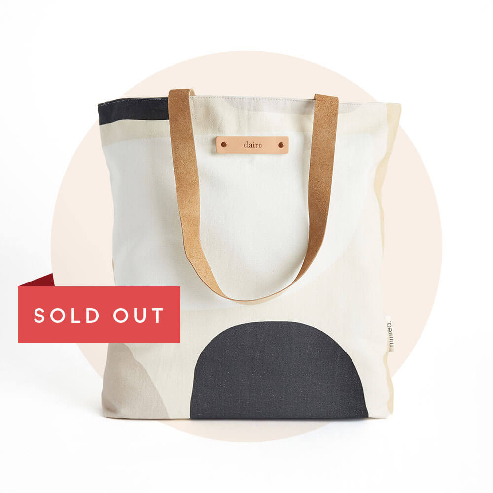 Personalizable Snap Totes