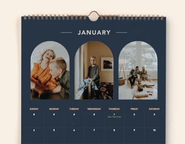 Shop photo calendars
