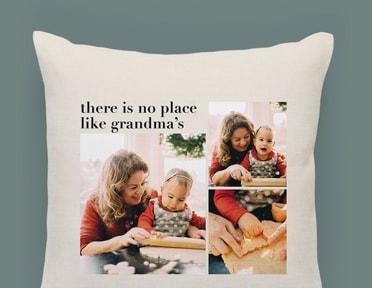 Shop custom pillows