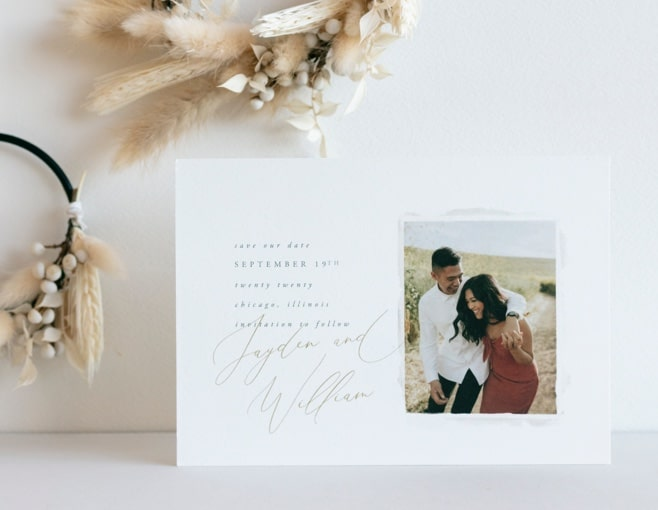 Shop Rustic Save the Dates