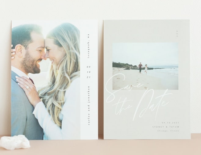 Shop Gloss-Press Save the Dates