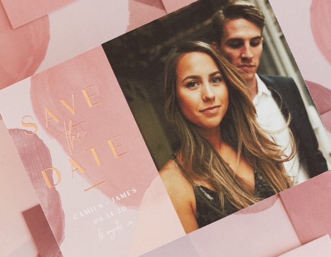 Shop Painterly Save the Dates