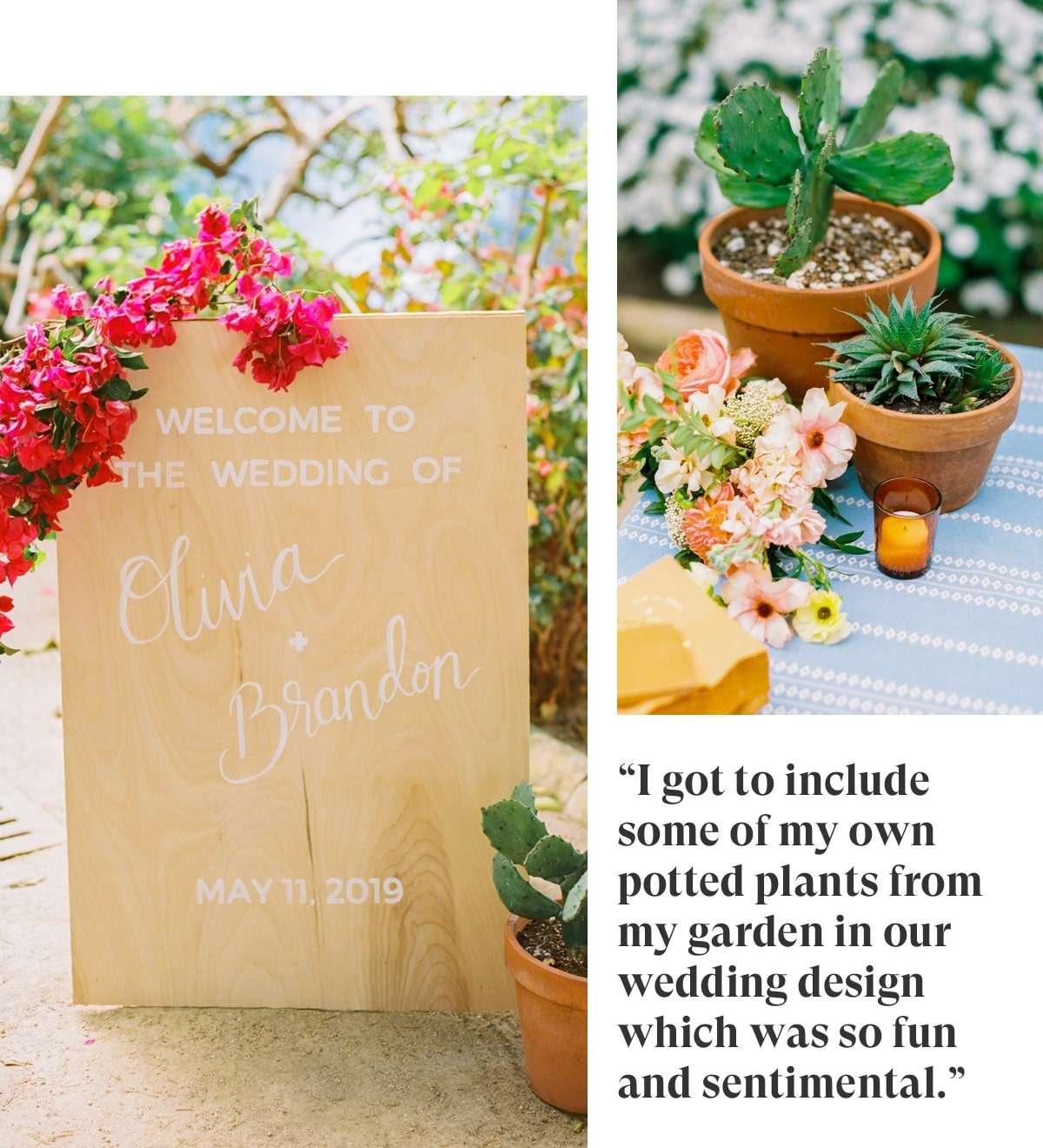 Minted Real Weddings: Olivia & Brandon