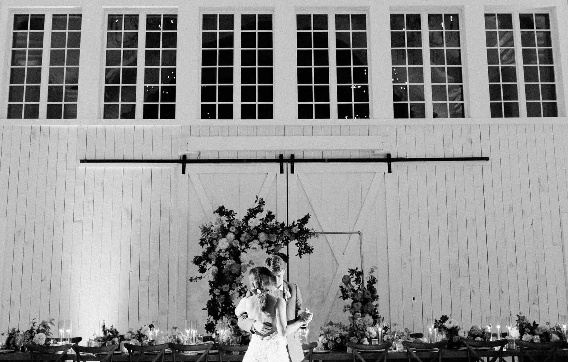 Bride & Groom Hugging
