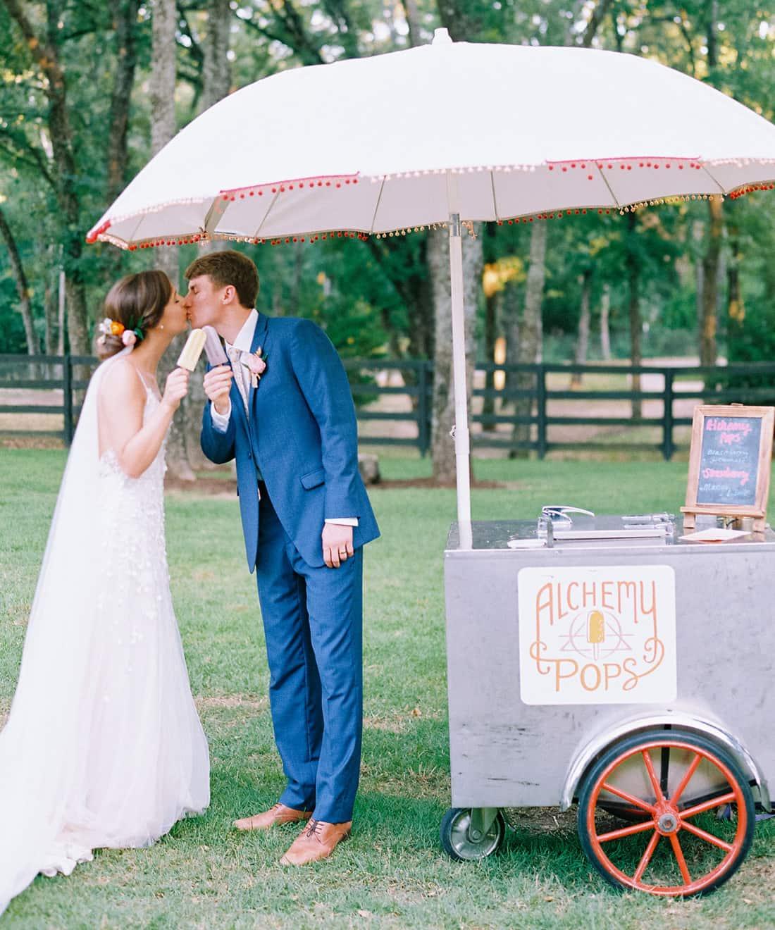 Minted Real Wedding: Evie & Joe