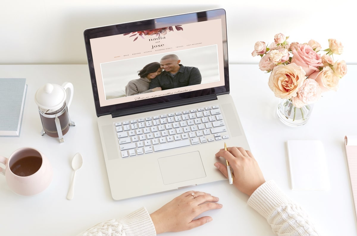 Premium Wedding Websites