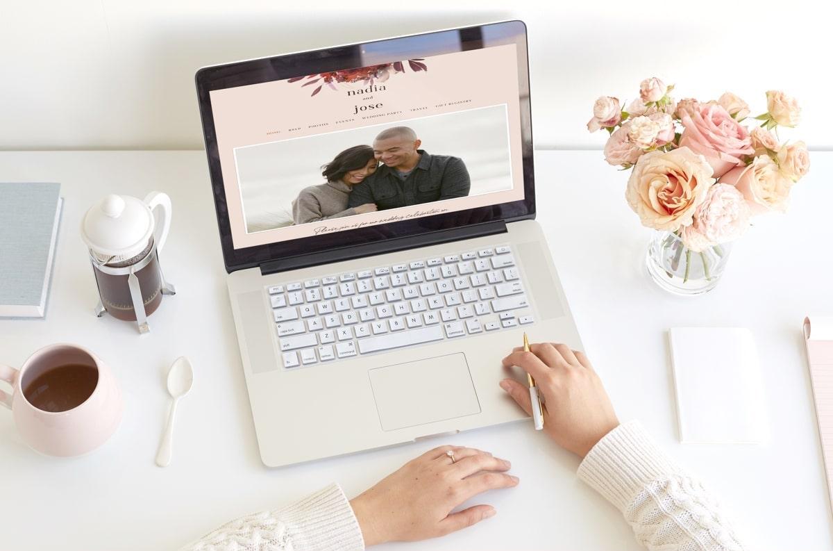 Premium Wedding Websites