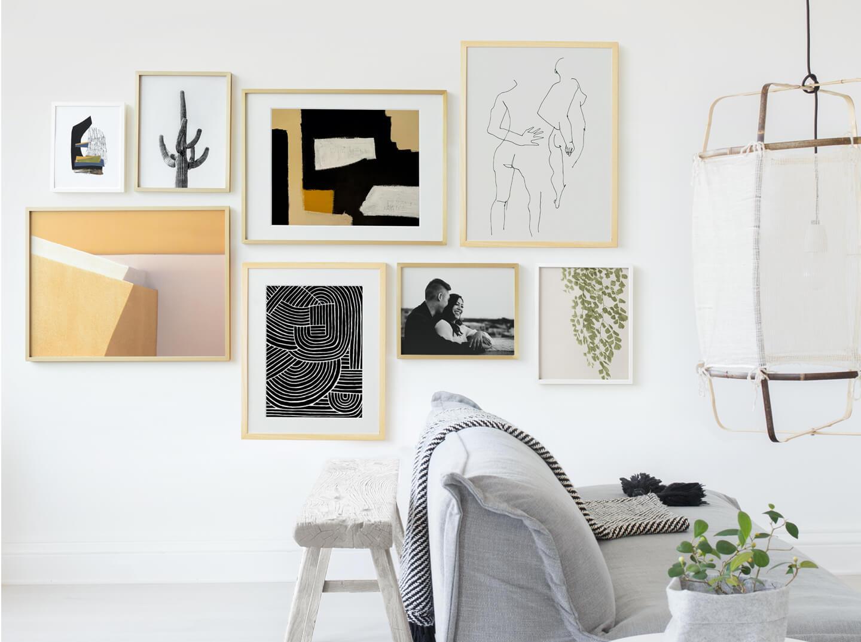 Golden Hour Gallery Wall