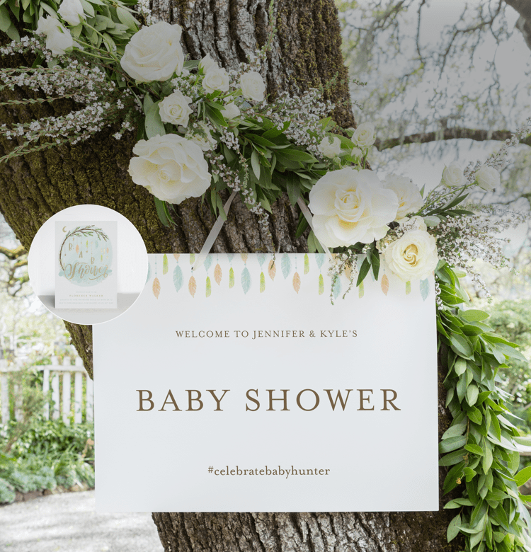 Shop Baby Shower Signs