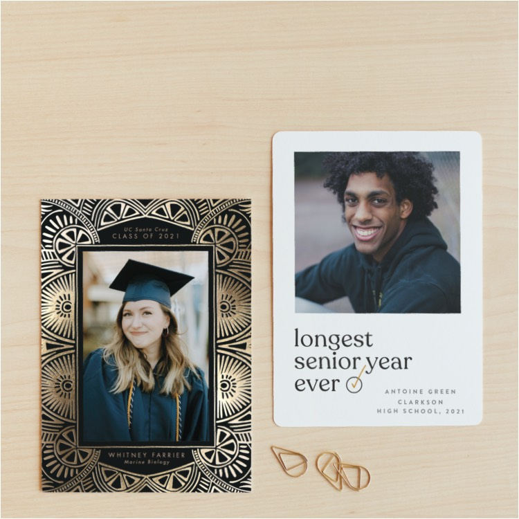 NEW Class of 2021 Grad Announcements