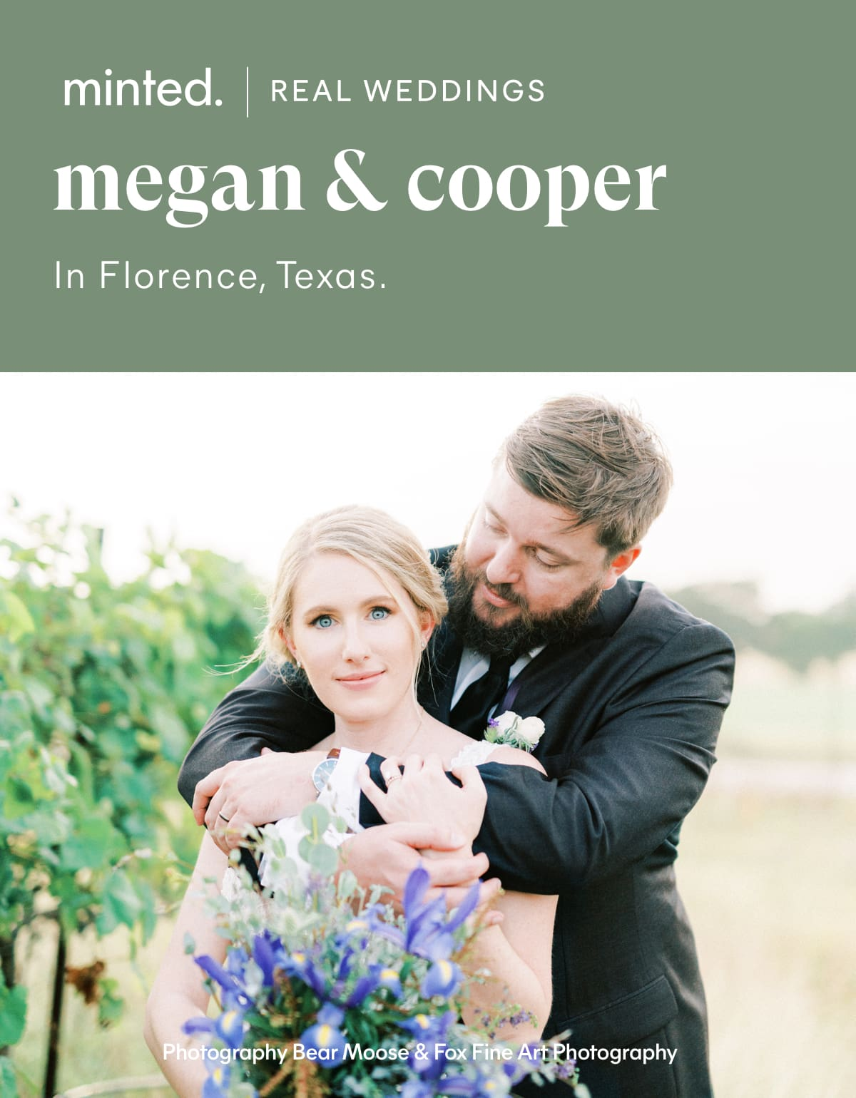 Minted Real Weddings: Megan and Cooper in Florence