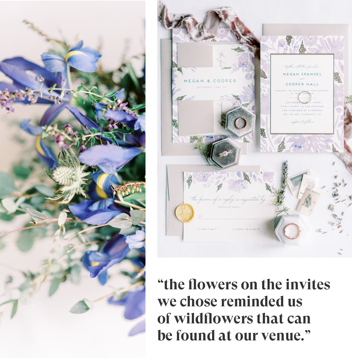 Minted Real Weddings: Megan and Cooper