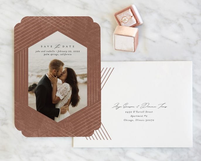 """Classic 5"""" x 7"""" Save the Dates"""