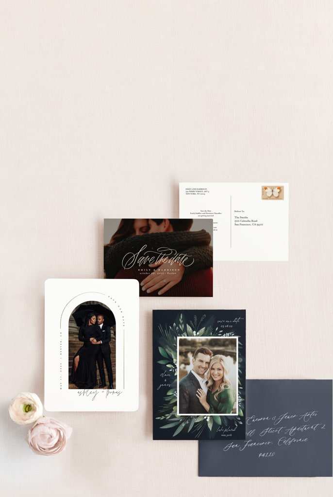 save the date formats & designs