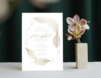 Shop Bridal Shower Invitations