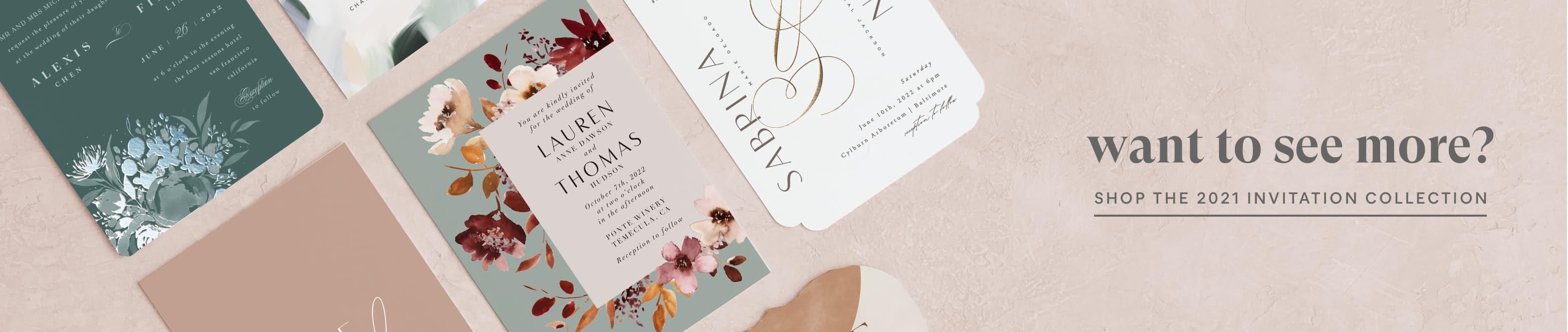 More Wedding Invitations