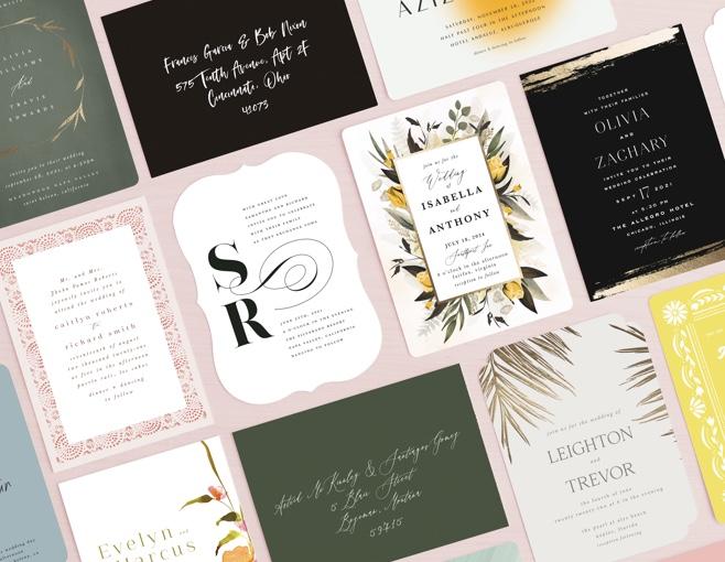 Shop New Wedding Invitations