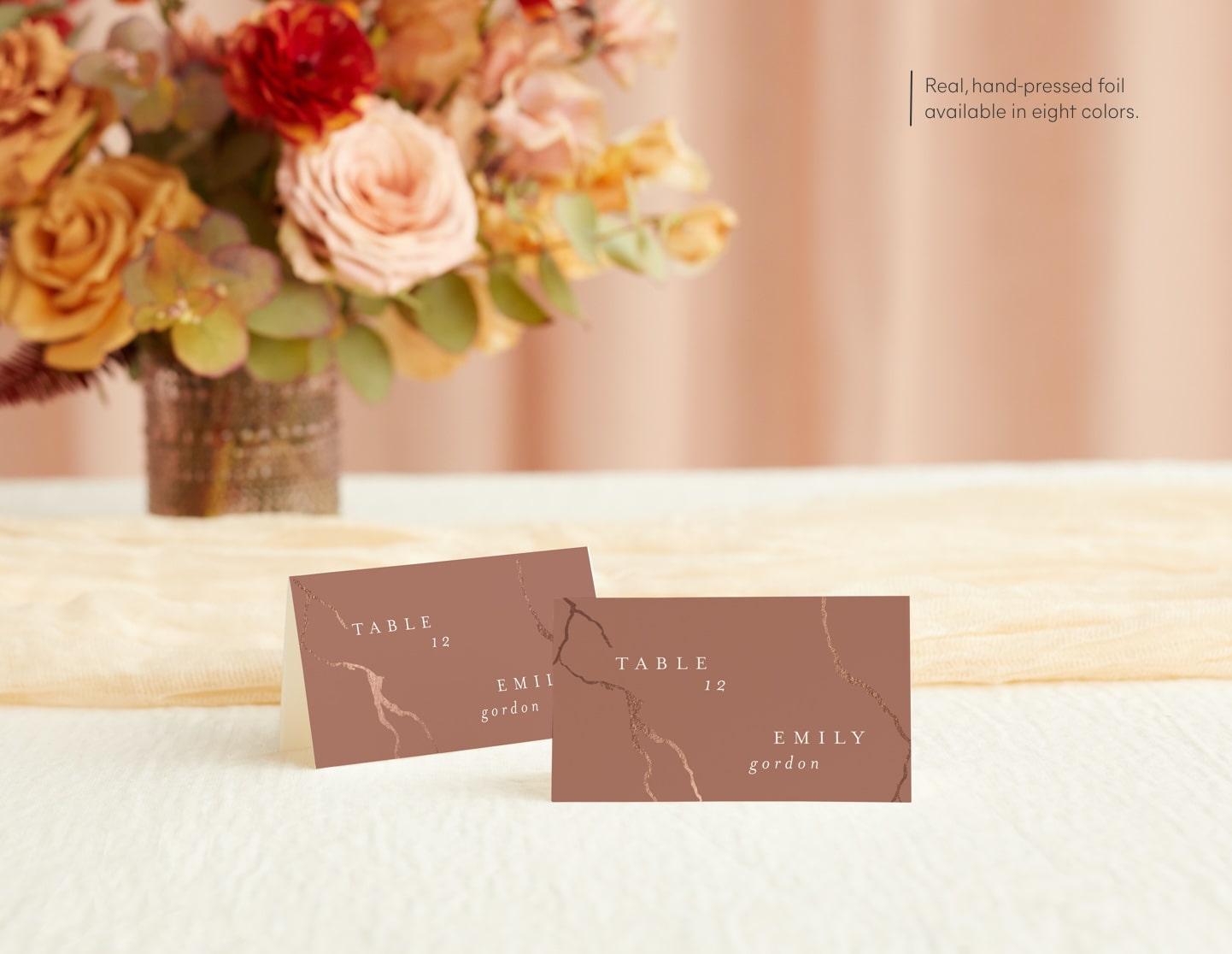 Place & Escort Cards