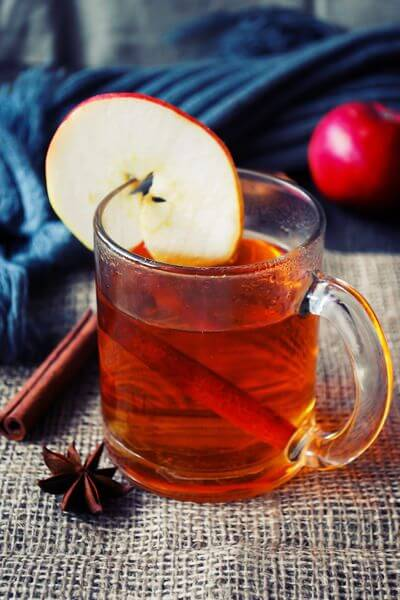 Spiked Whiskey Cider