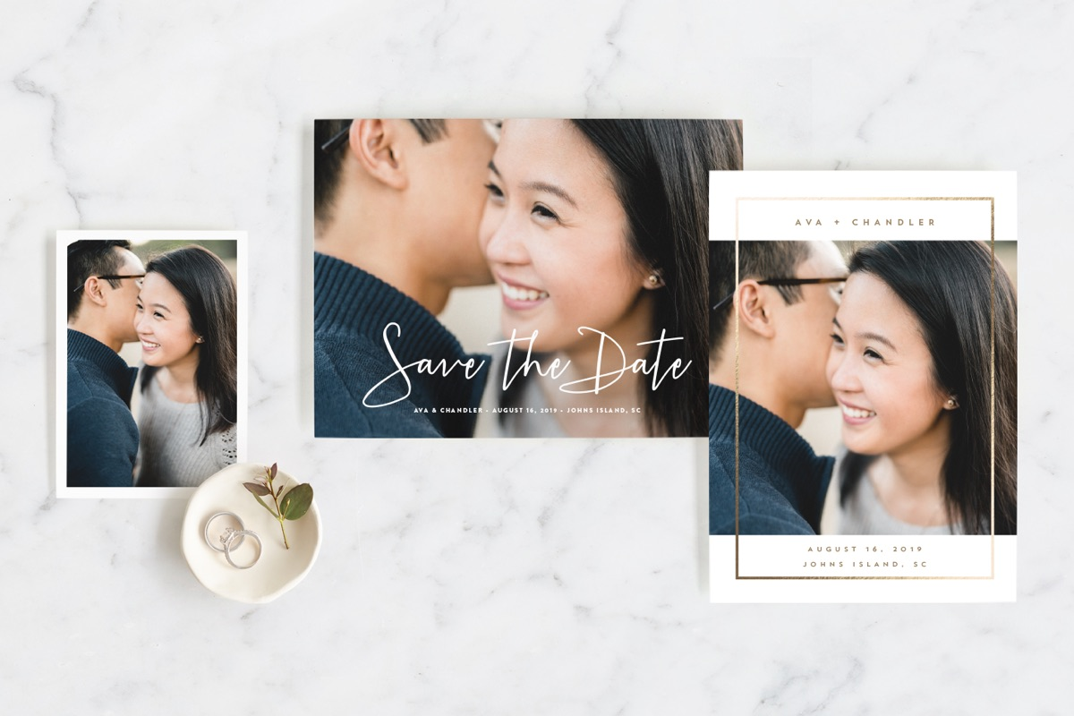 Personalized Save the Date Sample