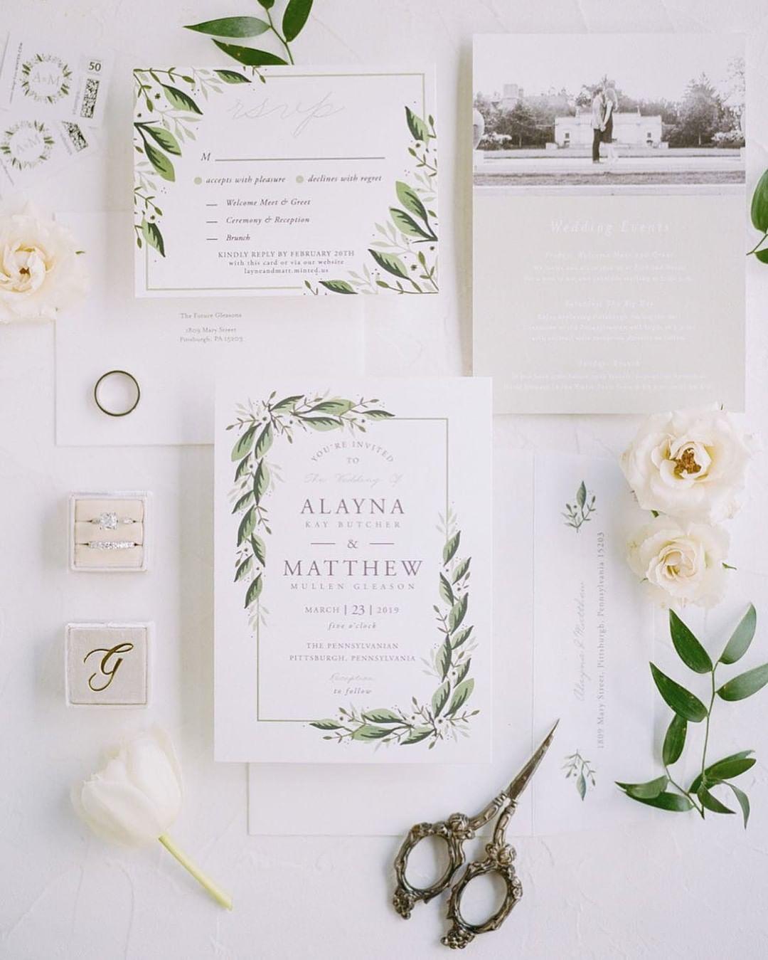 Wedding Invitation Lauren