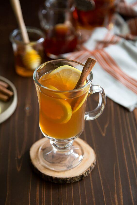 Mrs. Claus' Spiced Hot Toddy