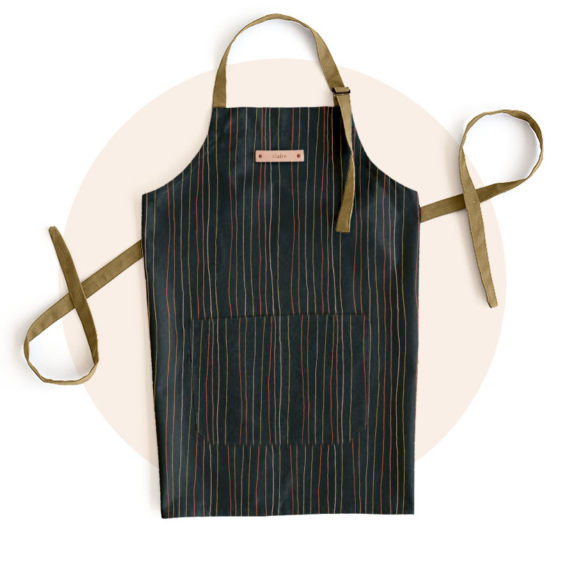 Personalizable Adult Aprons and Oven Mitts