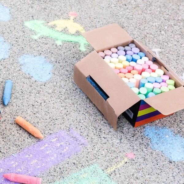 Sidewalk Chalk Mural