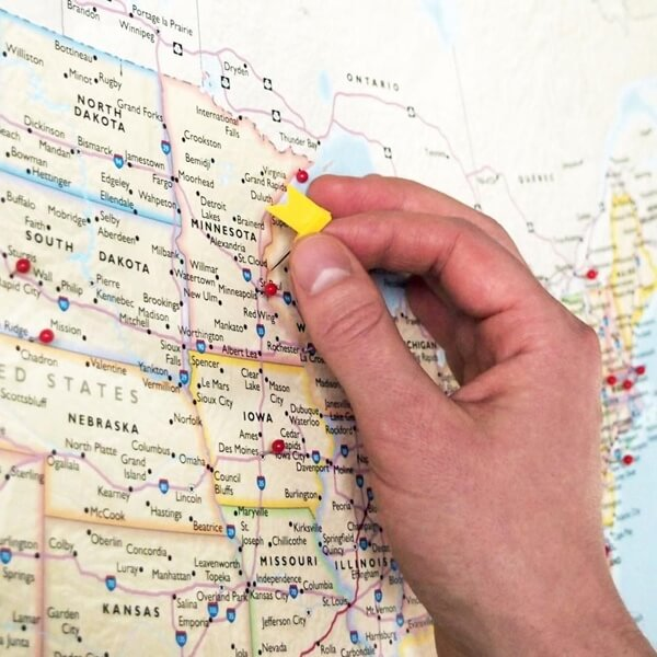 Map Out Future Travel Plans