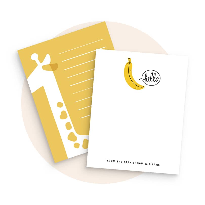 Personalizable Children's Stationery