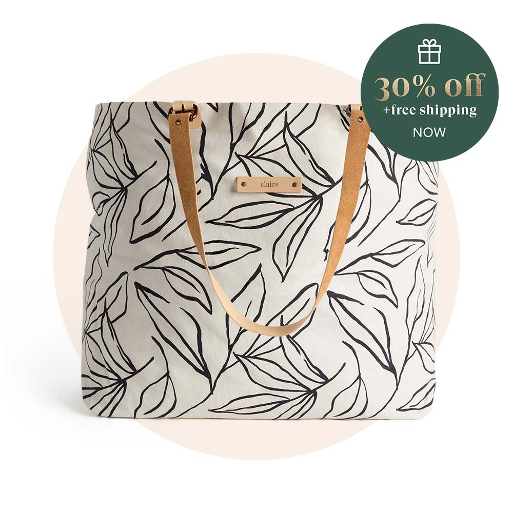 Personalizable Carry-All Slouch Totes