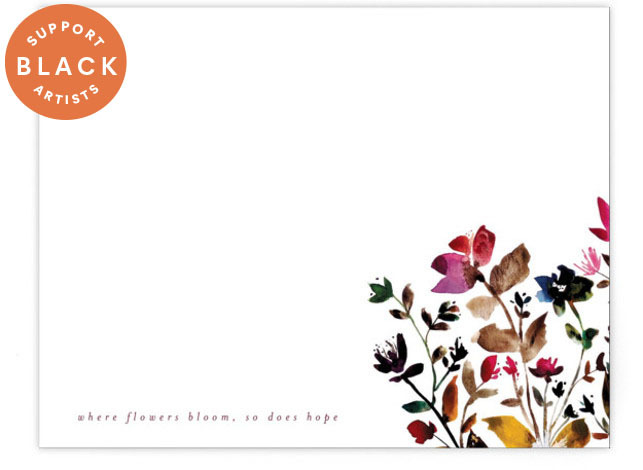 island wildflowers no.6 Personalized Stationery