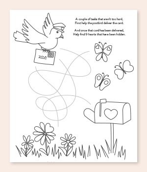 Post Bird Printable