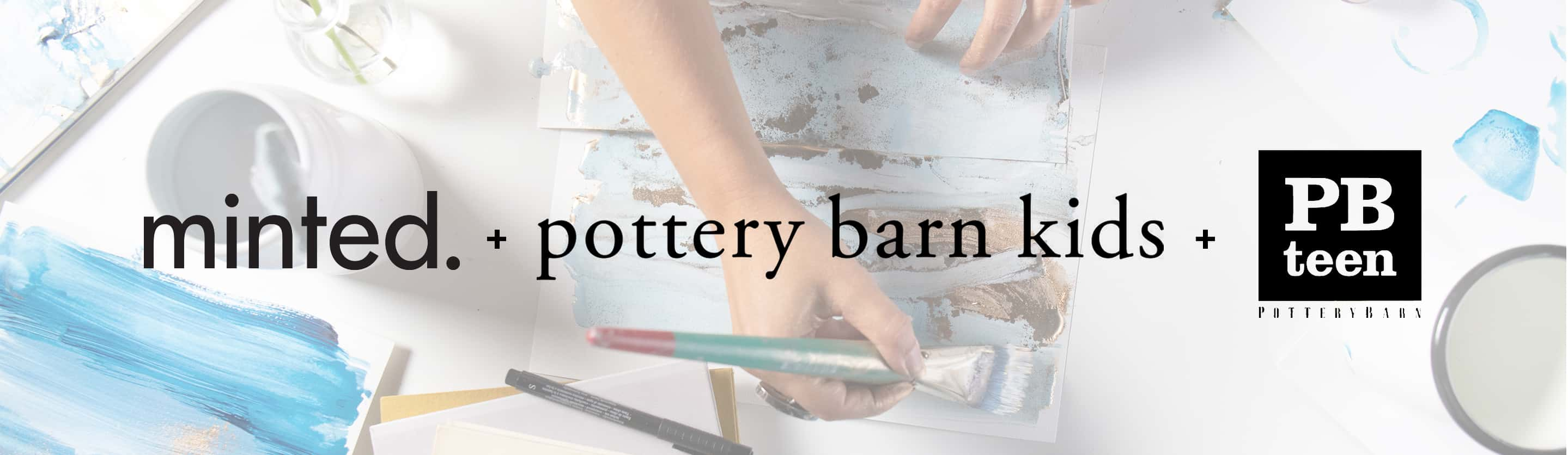 minted. + pottery barn kids + PBTeen