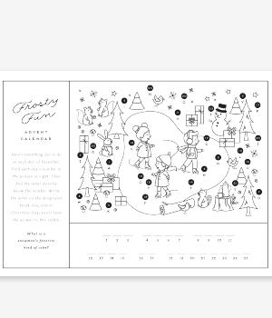 Advent Calendar Christmas Printable