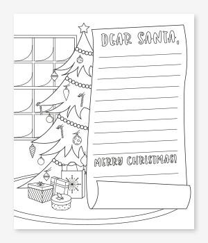 Santa Letter Christmas Printable