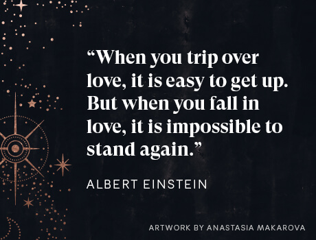 Einstein's wedding vow about love