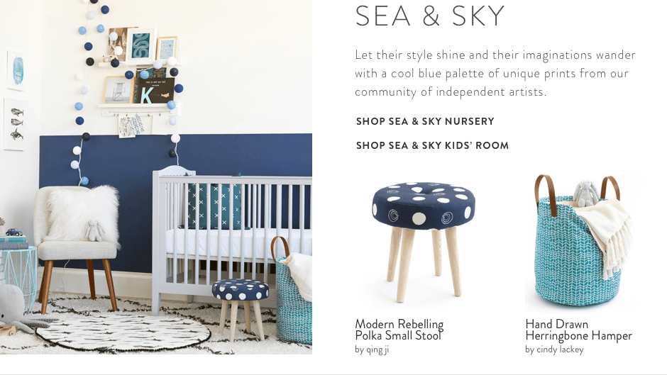 Sea & Sky Decor Collection