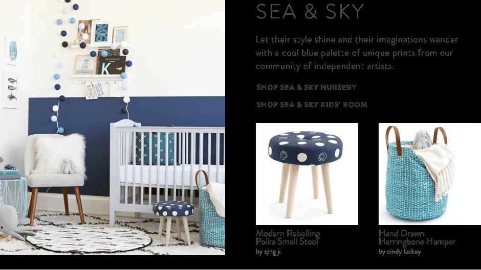 Sea & Sky Decor Collection