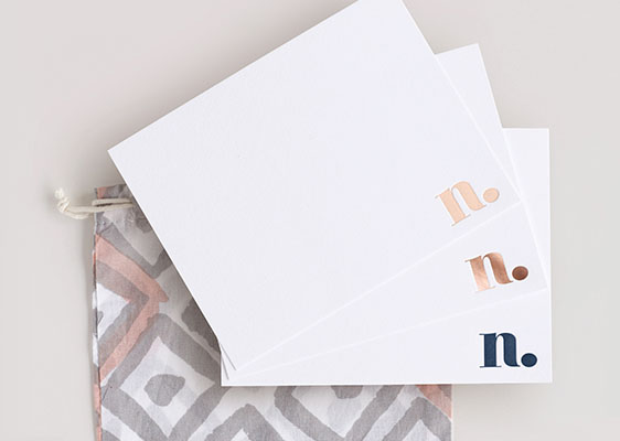 Monogrammed Initial Stationery