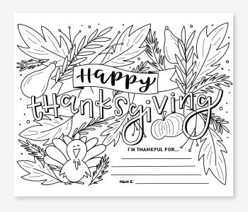 Thanksgiving Leaves Thanksgiving Printable