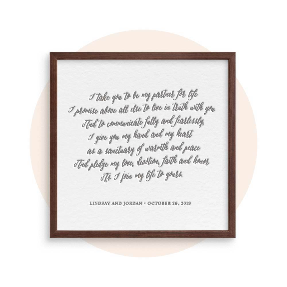 Custom Quotes, Vows, & Poems