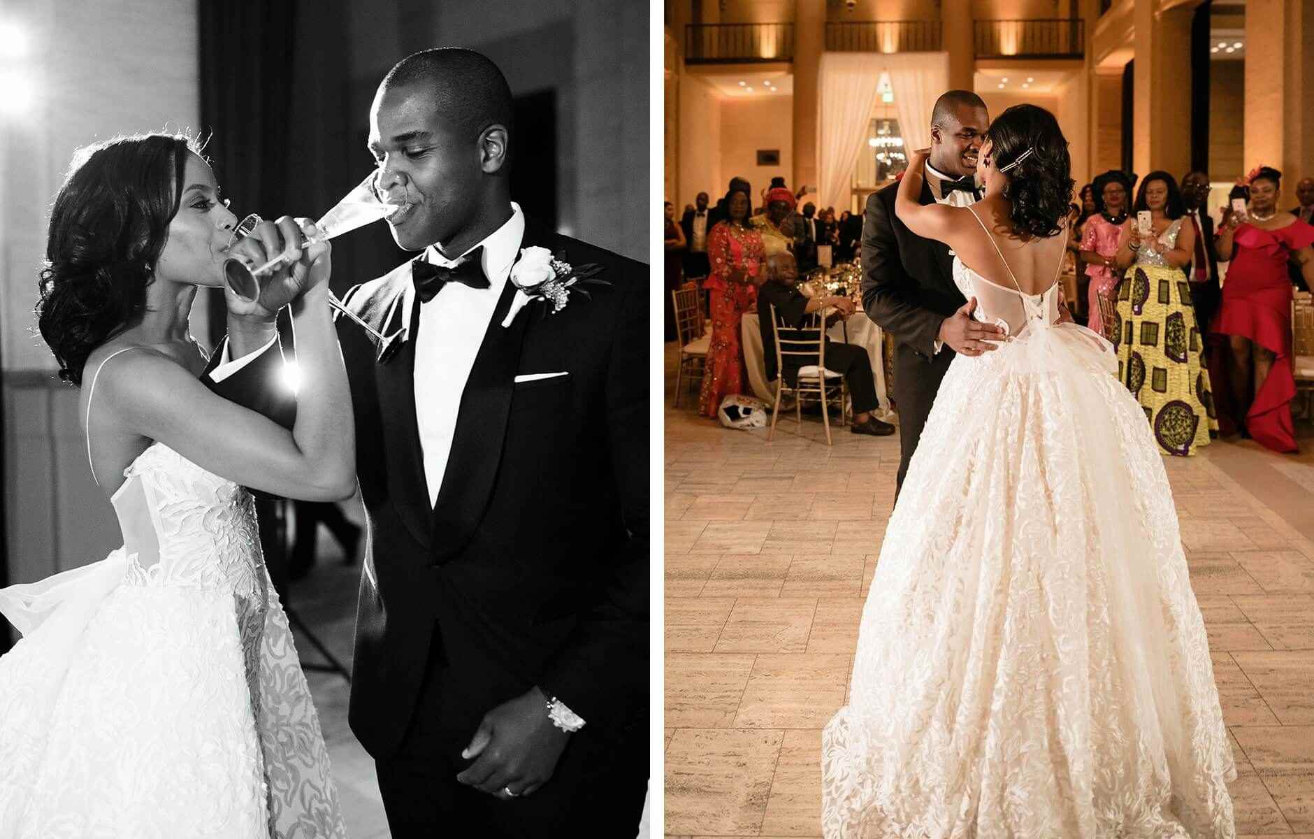 Minted Real Weddings Brittany & Stanley