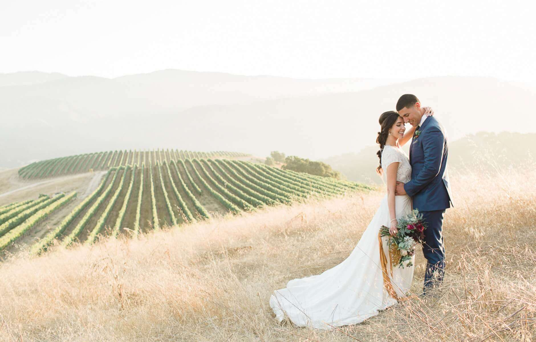 Read about a real Minted wedding in Carmel, California