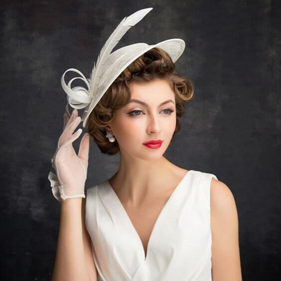 vintage wedding guest attire