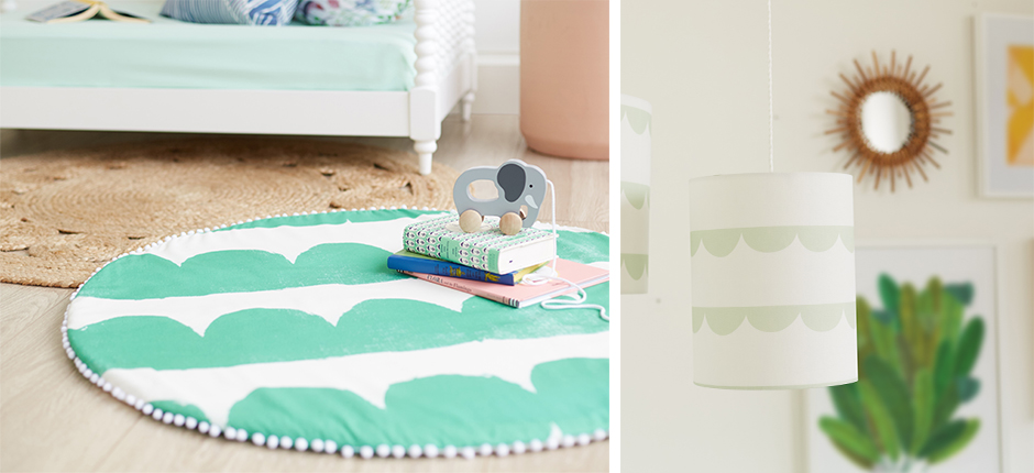 Little Mint Joyful Jungle Nursery Decor - Slide 1