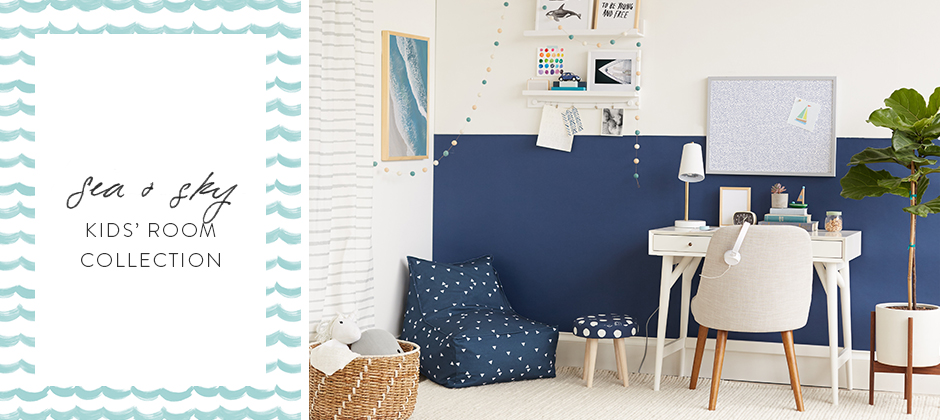little mint sea & sky decor collection