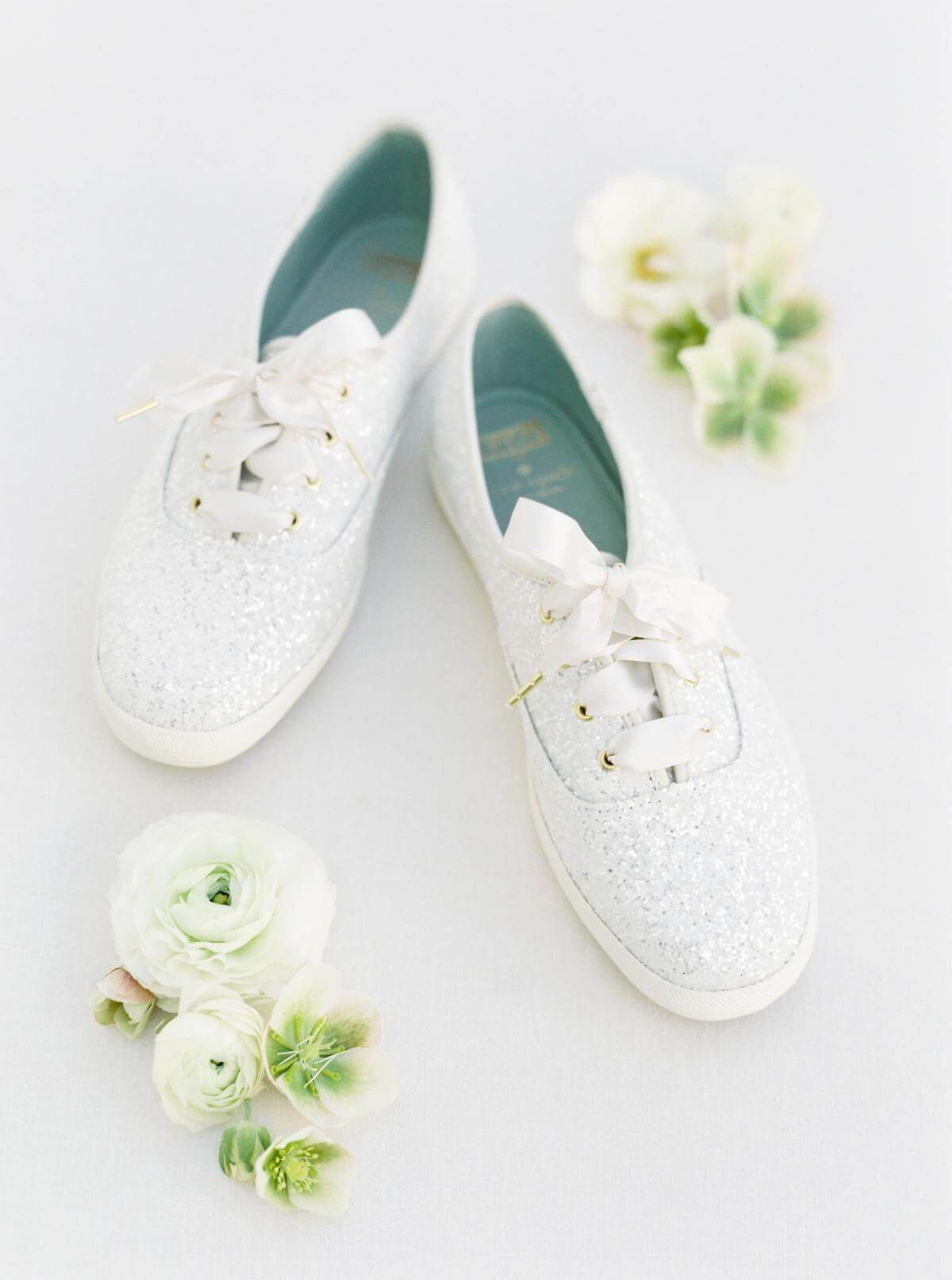 pair of white shoes
