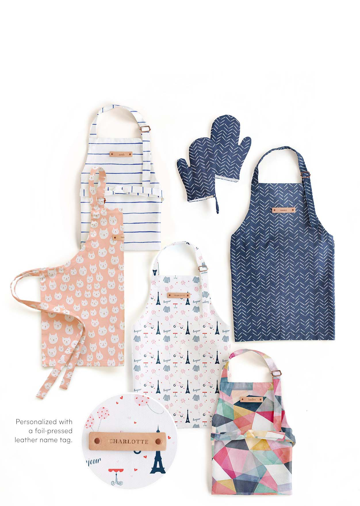 Personalizable Kids' Aprons & Mitts